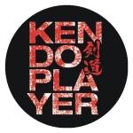 Przypinka Kendo Player